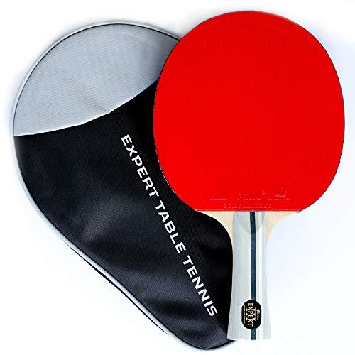 Palio Expert 3.0 Table Tennis Bat & Case - ITTF Approved, Beginner Ping...