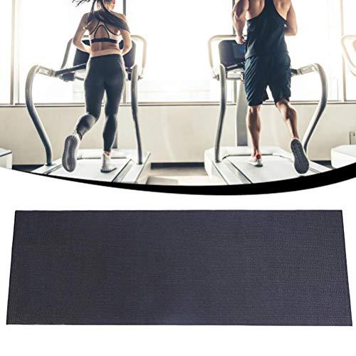 Katyma Fitness Unterlegmatten Stoßdämpfendes Bodenschutzmatte Schutzmatte für Heimtrainer, Crosstrainer, Rudergeräte, Laufbänder, Fußböden und Teppichschutz