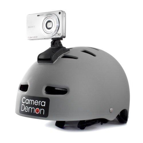 Camera Demon - Universal Helmet Camera Mount, Fits Any compact Digital...