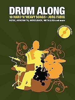 Drum along 5 - 10 hard rock classics - arrangiert für Schlagzeug - mit CD [Noten / Sheetmusic]