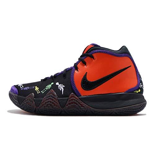 Nike Men's Kyrie 4 DOTD TV PE 1, Team Orange/Black-Multi-Color (10 M US, Team Orange/Black-Multi-Color)