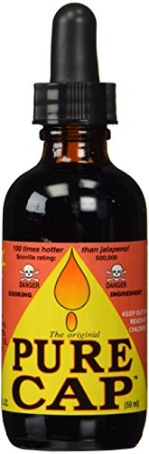 Pure Cap Hot Sauce: Ferociously Fiery Hot Sauce (500,000 Heat Units)