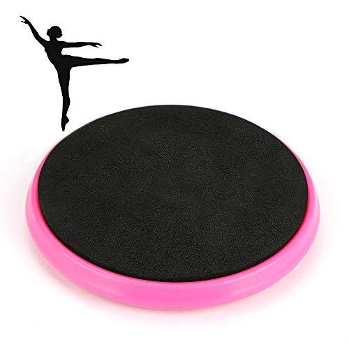 Maxjaa Balance Board Ballet volviendo Disco portátil de la Danza del Ballet del Disco de Ballet Vuelta Junta Mejorar el Equilibrio 175 Libras de Hilado de Habilidad Capacidad portante para Bailar