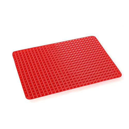 Pyramid Silicone Barbecue mat Multi-Functie Bakplaat Magnetron Oven mat 1 Pack