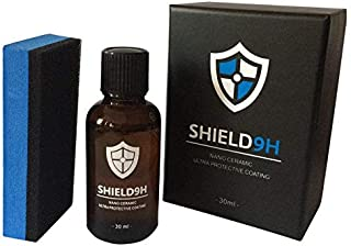 Shield 9H Upgraded Nano Ceramic Ultra Protective Car Polish Coating Superhydrophobic Glass Coating
