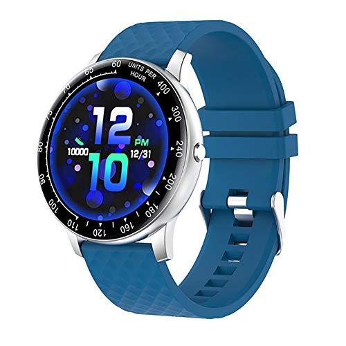 Deliya Fitness Tracker,Smartwatch Wasserdicht IP68 Fitness Armband Mit Pulsmesser Farbbildschirm Aktivitätstracker Pulsuhren Schrittzähler Uhr Smart Watch Fitness Uhr Für Damen Herren,D
