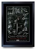 HWC Trading Imagen de autógrafo firmada de Game Of Thrones The Cast Gifts para los fans de la televi...