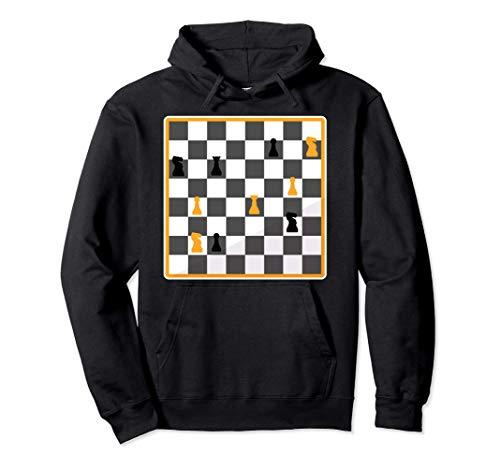 Das Damengambit Schach Schachzug Schachspiel Schachspieler Pullover Hoodie