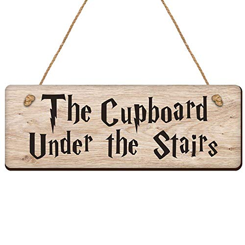 Boyce22Par The Cupboard Under The Stairs Wizarding 4X12 Wood Pallet Wall Art Sign Plaque 0671980