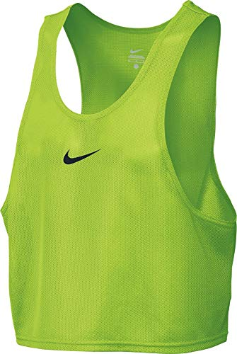 NIKE Football Bib Tank Top, Hombre, Verde (Action Green/Black), L