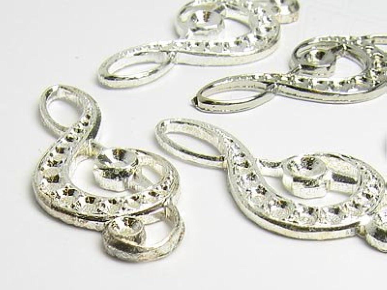 Fashion Jewellry Schmuckzierteile Violinschlüssel 30x12mm (Silber), (Silber), (Silber), 90 Stück B079R5XSQW | Ausgewählte Materialien  48abef