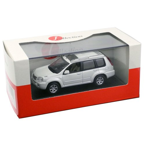 J-Collection 1/43 Nissan X-TRAIL Xtt 2005 (Pearl White) (japan import)