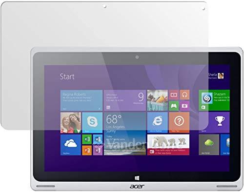 dipos I 2X Schutzfolie matt kompatibel mit Acer Aspire Switch 10 FHD Folie Bildschirmschutzfolie