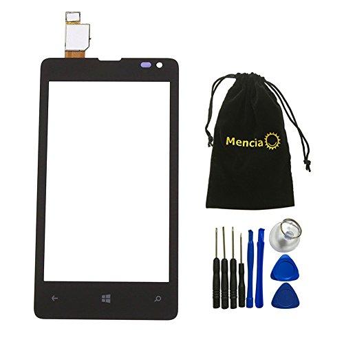 Mencia Ersatzdisplay für Nokia Lumia Microsoft 435 Touch Digitizer Bildschirm mit Werkzeug