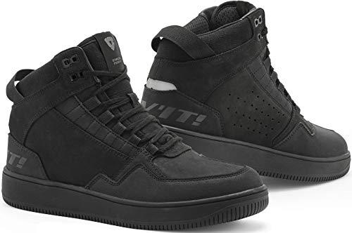 Revit Jefferson Shoes - Zapatos para moto, color negro, talla 46 EU
