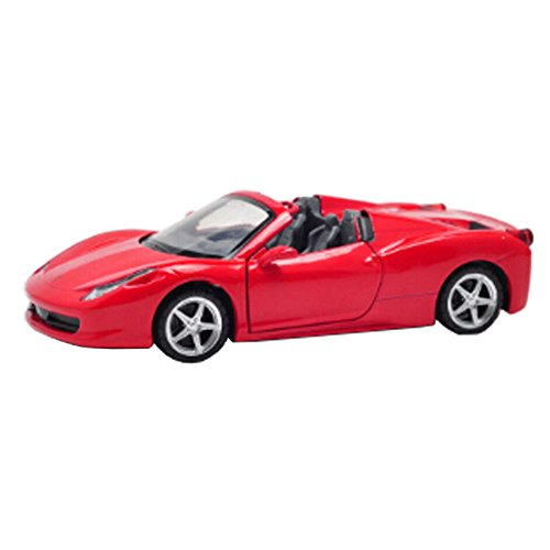 Kids Best Gift Alloyed Modèle de voiture Cool Car Display 1:32 Toy Car, rouge