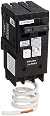 Double pole, 20 Amp, type QPF2 GFCI Circuit Breaker 10,000 AIC interrupting rating Includes self-test as required by UL 943 as an added safety feature Suitable for a variety of construction applications including spas, hot tubs, kitchens, bathrooms, ...