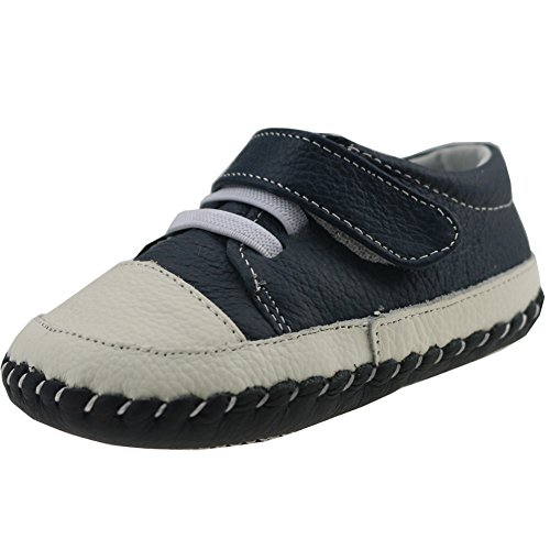 Orgrimmar Baby Boys Girls First Walkers Soft Sole Leather Baby Shoes