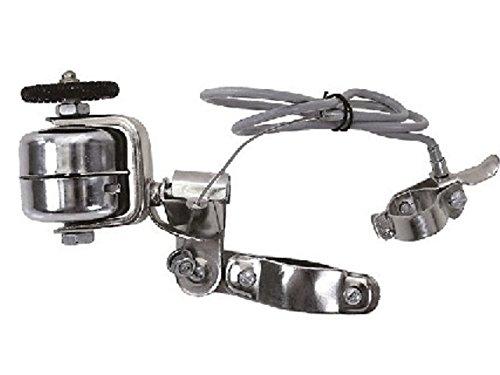 Fahrrad Glocke Radlaufglocke (Sturmglocke) Stahl verchromt