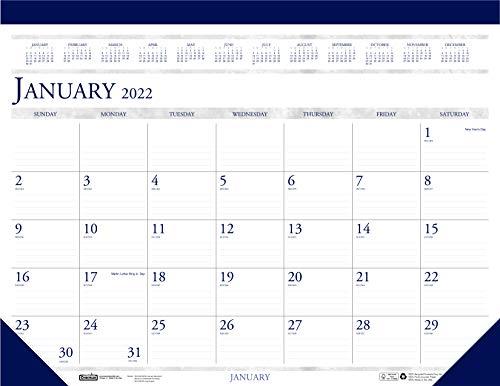 House of Doolittle 2022 Monthly Desk Pad Calendar, Classic, 22 x 17...