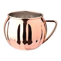 OUNONA カクテル コップ マグカップ ステンレス製 700ml かぼちゃ 飲み物 コーヒーカップ ティーカップ クリスマス 感謝祭