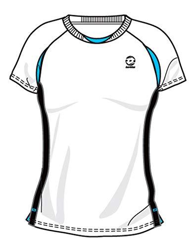 Lotto Sport T-Shirt Open de Tour ellas, Femme, White/Brook XXL Wei