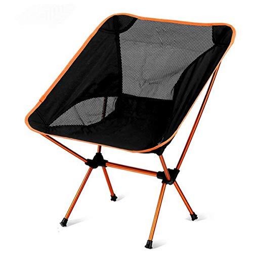VDSOIUTYHFV Silla Camping Plegable Ultraligero Portátil Silla Playa con Bolsa Transporte, Fácil Llevar Ideal para Senderismo Pesca Acampar