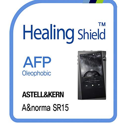 Protector de pantalla para Astell & Kern A&Norma SR15 Music Player, AFP Oleophobic Coating Screen Protector Clear LCD Guard Healing Shield SR15 Film