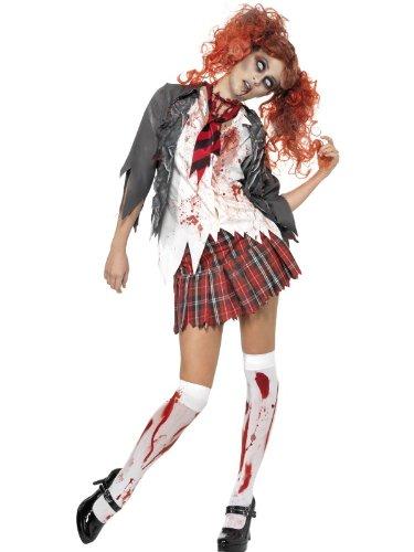 Smiffys High School Horror Zombie Schoolgirl Costume