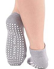 Yoga Sokken - Yoga Pilates Bar Barre Grip ABS noppen anti-slip sokken stoppersokken noppen sokken voor barre, pilates, yoga, zwangerschap
