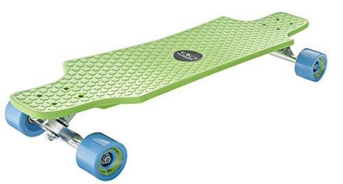 HUDORA Skateboards Longboard Fun Cruiser, grün - ABEC 7 - Skateboard - 12714