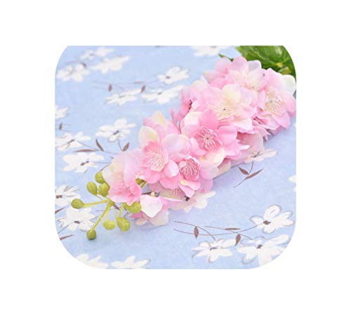 Meet You-Flower 22 Fiori Artificiali in Lattice per Fiori di Delphinium e giacinto di Poliuretano Morbido, Decorazione per Matrimoni One Size Mocassini Eleganti da Donna