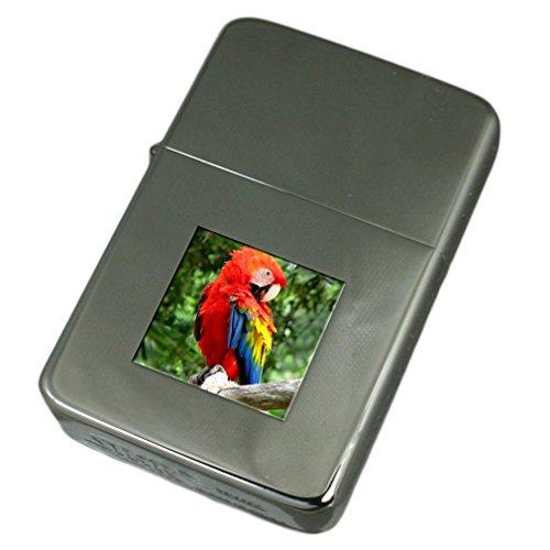 Select Gifts Briquet gravé Ara Rouge Parrot