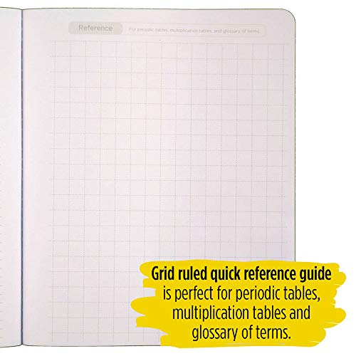 """Five Star Interactive Notetaking Composition Books, 1 Subject, College Ruled Composition Notebooks, 100 Sheets, 11"""" x 8-1/2"""", 3 Pack (38611) Photo #3"""