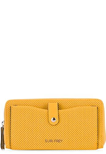 SURI FREY Romy Hetty Zip Around Wallet XL Yellow