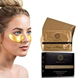 Luxury Gold Under Eye Patches : Under Eye Mask for Puffy Eyes Dark Circles Under Eye Treatments - Hydro Gel Patch with Collagen for Eye Bags and Dark Circle Treatment