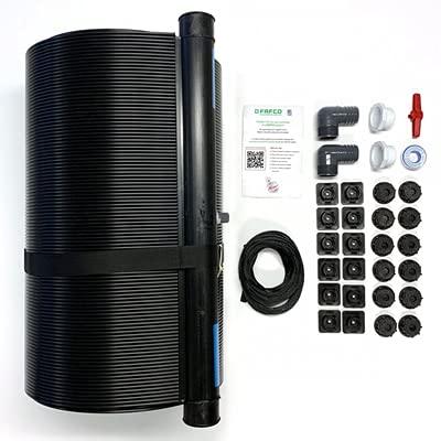 """Fafco Solar Cub Heating Systems   2 x 20, 2"""" W/Installation Kit"""