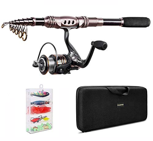 PLUSINNO Telescopic Fishing Rod ...