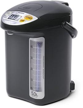 Zojirushi Water Boiler 11.9 x 9.1 x 13.1 inches Black