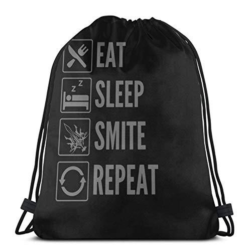 WH-CLA Cinch Bags Edu-Cation Will Change The World Bolsa De Playa Imprimir Al Aire Libre Ligero Hombres Mujeres Mochilas con Cordón Bolsas De Almacenamiento Bolsas con Cordón Bolsas con