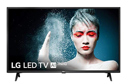 LG 43LM6300PLA - Smart TV Full HD de 108 cm (43') con Inteligencia Artificial, Procesador Quad Core, HDR y Sonido Virtual Surround Plus, Color Negro