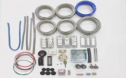 第二種電気工事士技能試験セット 13課題 1回練習分 配線器具 ケーブル 一式 <テレネットジャパン版>