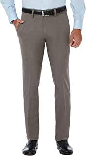 Haggar Men's in Motion Performance Straight Fit Stretch Pants, 38 x 32