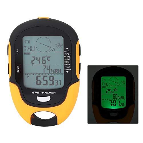 IGKE Robustes und langlebiges digitales Barometer, digitales Höhenmesser-Barometer, digitaler Höhenmesser für GPS-Navigationsempfänger, zum Wandern Camping Klettern für Outdoor-Fans