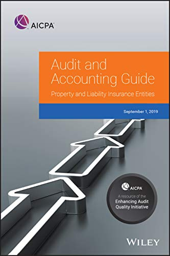 Compare Textbook Prices for Property and Liability Insurance Entities 2019 AICPA Audit and Accounting Guide 1 Edition ISBN 9781948306843 by AICPA