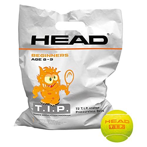 HEAD T.I.P. Palline Tennis, Unisex Adulto, Giallo, Taglia Unica