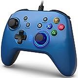 BIMONK Controller di Gioco Cablato per PC, Joystick Gamepad con Controllore di Gioco per PC Doppia Vibrazione Compatibile PS3, Switch, PC Windows 10/8/7, Laptop, TV Box, Telefoni Android, 2m Cavo USB