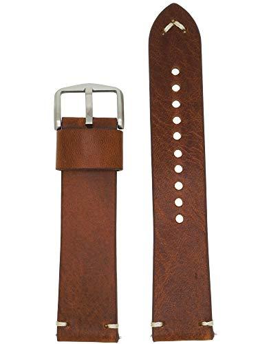 Fossil LB-FS5540 - Correa para reloj (piel, 22 mm), color marrón