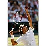 WTHKL Roger Federer Tennis Star Sport Star Leinwand Malerei