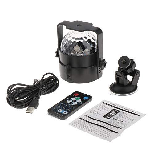 HomeDecTime Lámpara Teledirigida de La Luz de La Bola Mágica Del USB LED para Los Banquetes de Boda de DJ KTV